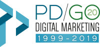 PD/GO Digital Marketing 20th Anniversary 1999-2019 Link opens in new window.